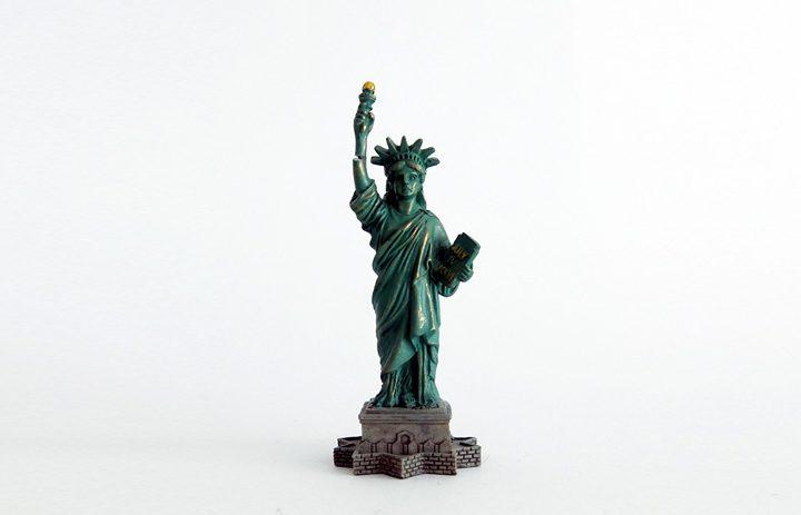 Mitbringsel New York City Statue