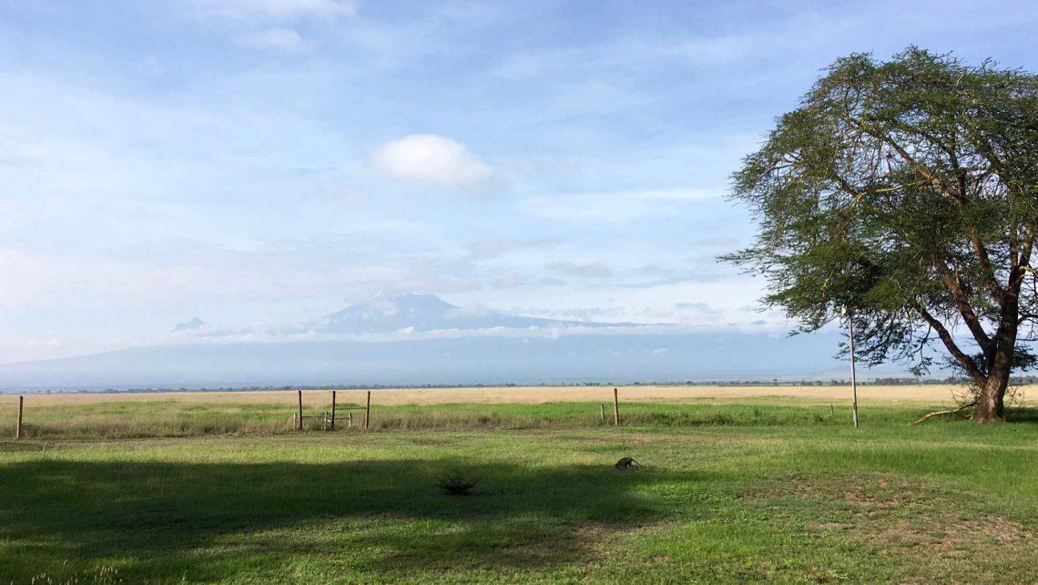 Reisebericht Amboseli-Oltukai-Lodge-Ausblick