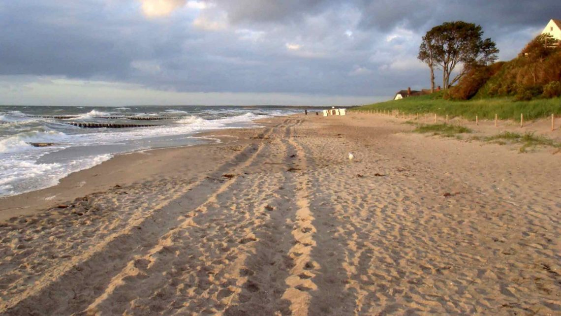 Strand Ahrenshoop an der Ostsee - reiseblog detailjaeger