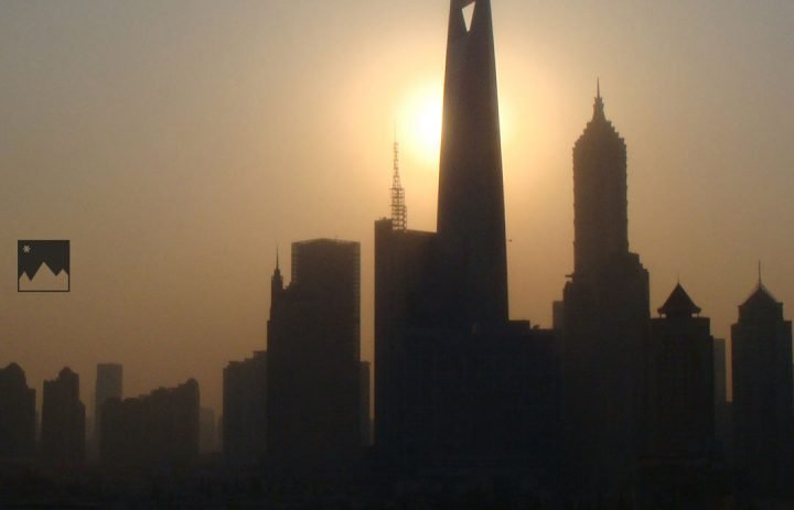 Reiseblog-Shanghai-Sonnenuntergang-Pudong