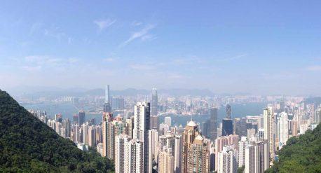 beitragsbild zum reisebericht über hong kong - ausblick vom the peak