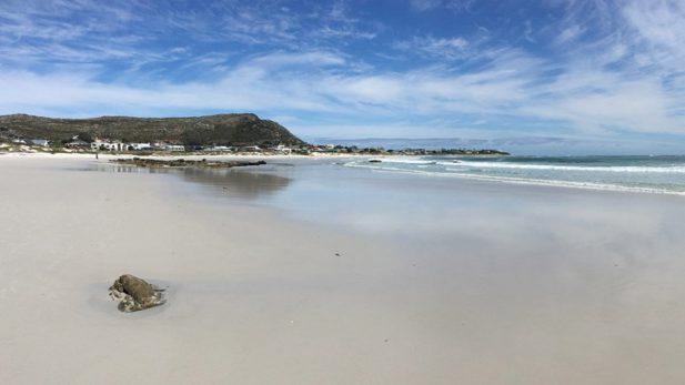 Strand von Kommetje in der Nähe von Kapstadt in Südafrika - reiseblog detailjaeger